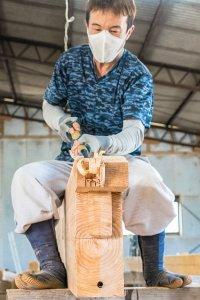 熊本市の村田工務店の若き大工